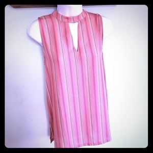 Loft Outlet Striped Sleeveless Tunic